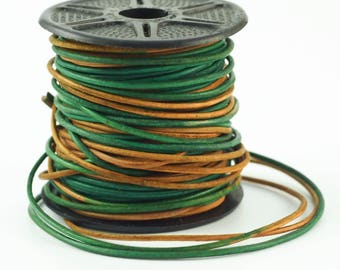1.5mm Gypsy Berol Indian Leather Cord - By The Yard