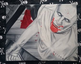 16x20 Hannibal Lecter - Silence of the Lambs - oil painting