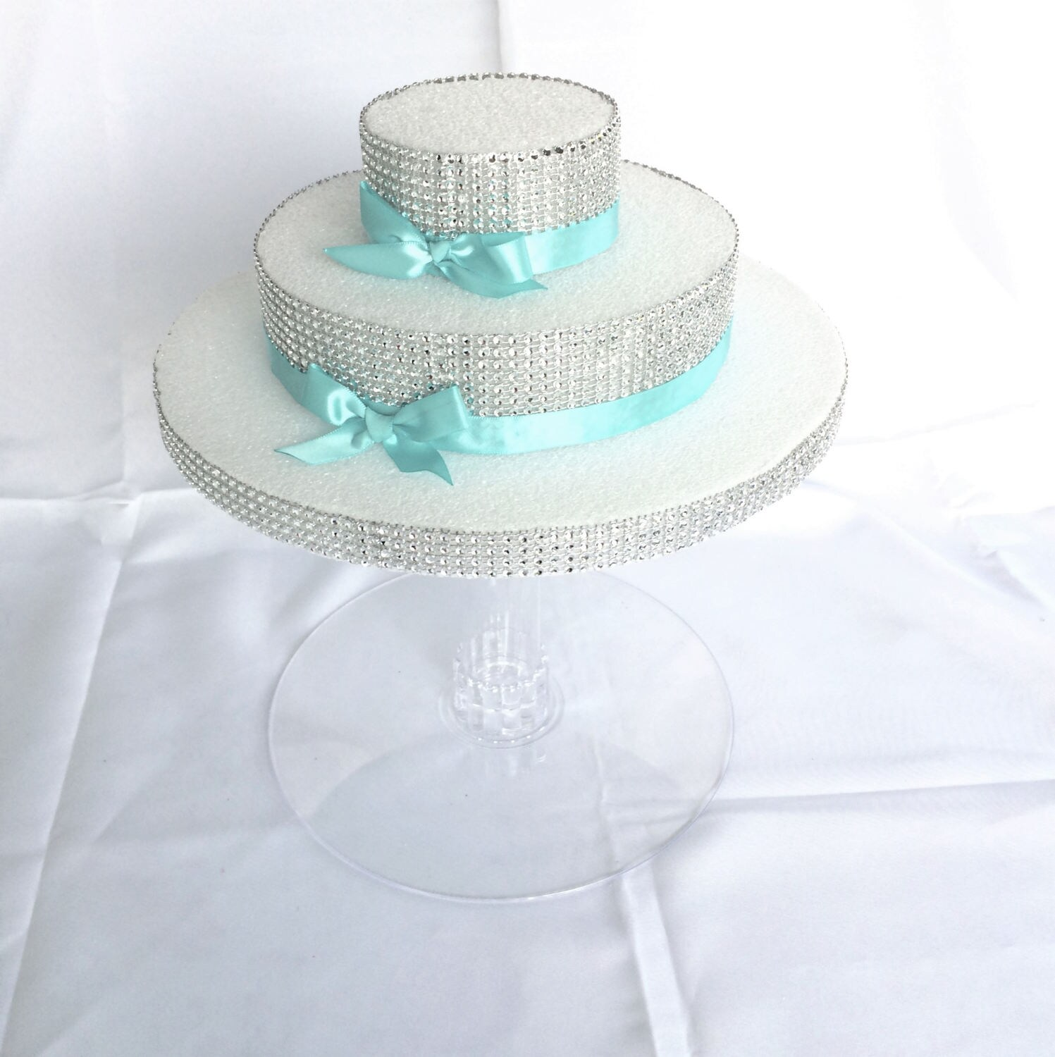 5 Cake Stand Set for Wedding Cake Displays 2 inch gap / Cup cake ...