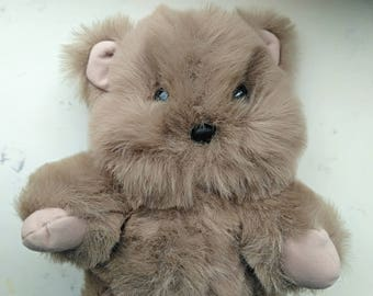 Vintage Star Wars Ewok, Walt Disney World, Lucasfilms, Return of the Jedi Ewok Stuffed Animal, 1980s