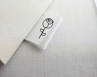 Custom clothing labels - logo - Outside label