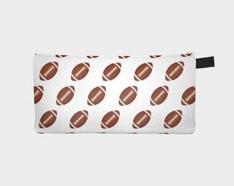 Football Pencil Pouch for Kids|Sports Fan Gift|Back to School