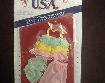 Barbie Sleepwear Dream Girl USA 1985