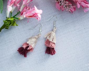 Tiers Not Tears - Bohemian Style Tassel Earrings