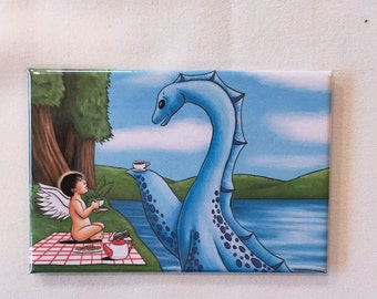 Tea with Nessy Magnet