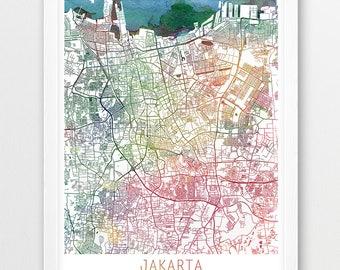 Copenhagen City Urban Map Poster Copenhagen Street Map Print