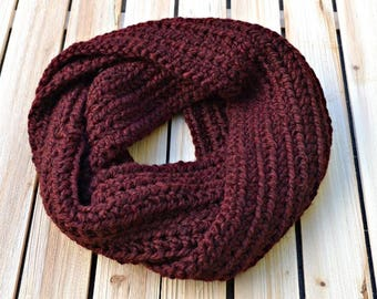 Infinity Scarf, Circle Scarf, Crochet Scarf, Chunky Scarf, Cowl, Chunky Infinity Scarf, Chunky Circle Scarf, Chunky Cowl, Crochet Cowl