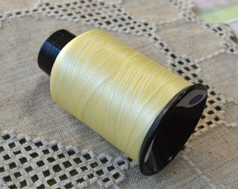 Cord Thread Light Tan Beige 3-ounce Spool Nymo® Nylon Imitation Silk