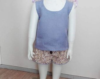 Baby-Toddler Summer pants with camisole