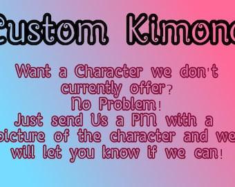 Custom Kimono Dress