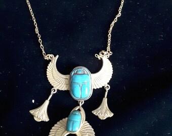 Vintage Scared necklace