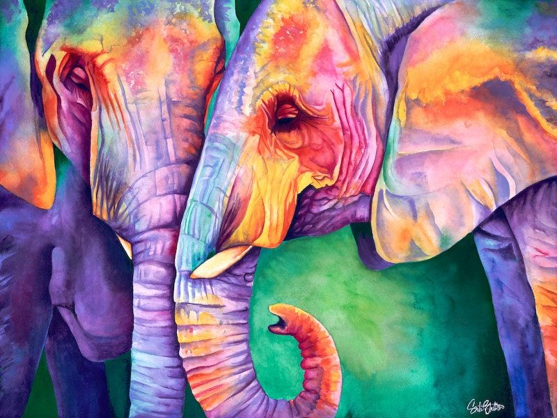 Elephant Art wallpapers high quality resolution