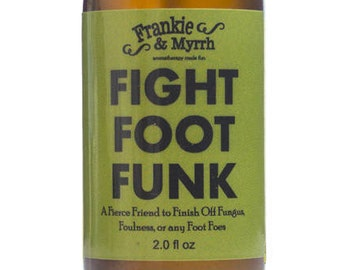 Fight Foot Funk --- A fierce friend to finish off fungus, foulness, and other foot foes