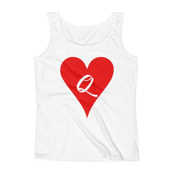 The Queen Of Hearts Alice in Wonderland Ladies' Tank top