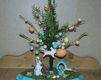 Easter Bunny tree center piece