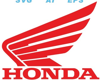 Honda Motorcycle logo ai, svg, eps, png, jpg, pdf, dxf, vector files, instant download