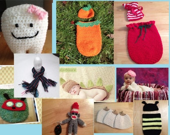 Pattern sale ! 10 patterns for 1.99