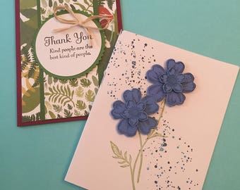 Set of 8 Custom Thank You Cards- Free Shipping!
