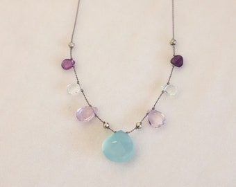 Chalcedony Necklace #70