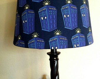 Doctor Who Inspired: Tardis Lamp Shade