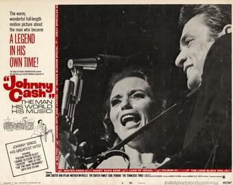 Johnny Cash - 1969 - Original US lobby card - #4