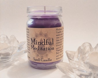 Mindful Meditation Spell Candle