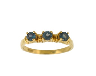 Alexandrite Ring -Natural Alexandrite- in 14K yellow gold with CERTIFICATE!!!Free Shipping in USA  Only