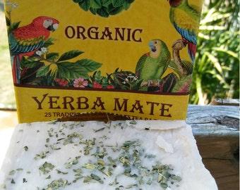 Cleansing bar Yerba Mate tea set of 3 free shipping