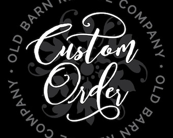 Custom order for Shiney Joy Varghese - Wall Decal