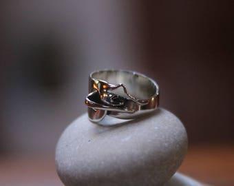 Handmade 925 silver fantasy ring