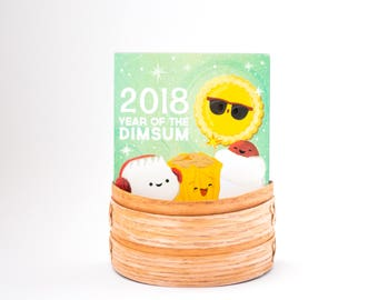 Year of the Dim Sum Desk Calendar