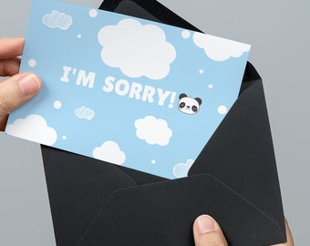 apology gift, apology card, I'm sorry gift, I'm sorry card, I am sorry gift, I am sorry card, forgive me gift, forgive me card, printable