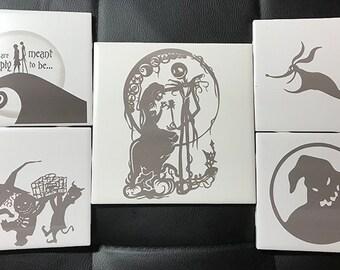 Engraved Nightmare Tile Set