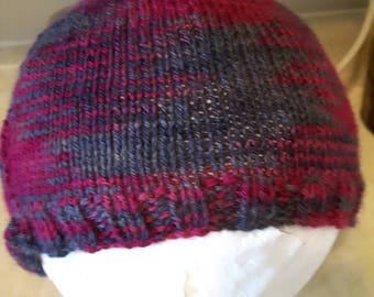 Hand Knit Alpaca Wool Beanie