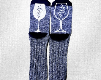 Wine Me Socks, if you can read this, bring me a glass of wine, funny socks , wine