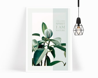 Wall Art,Poster,Prints,Home Decor,Office Decor,Art Print,Gift for Her,Gift for Him,Modern Art,Leaves,Printable Art,Plant,Tropical,Botanical