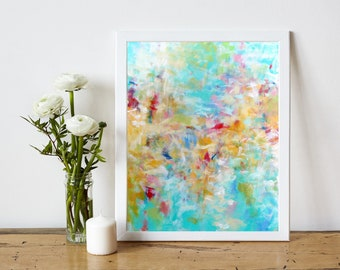 Abstract Printable Art - Abstract Painting Print - Digital Download Art Print - Abstract Expressionist Art - Modern Art Decor - 8x10 11x14