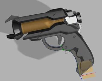 Ana's sleeping dart gun 3D PRINTING FILES V2!