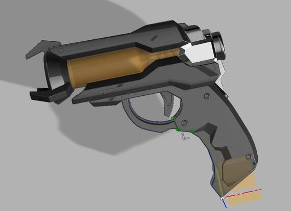 Famous Ana's sleeping dart gun 3D PRINTING FILES V2 UL22