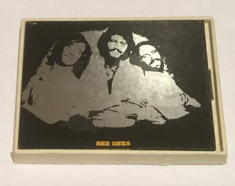 Vintage Bee Gees Mirror Badge