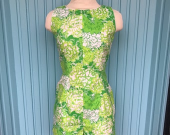 Lilly Pulitzer the Lilly Vintage 1960s tennis romper playsuit jumper green florals Lord and Taylor