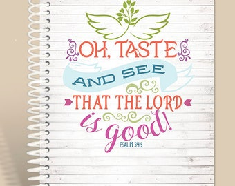 Taste & See Prayer Journal / Personalized Journal
