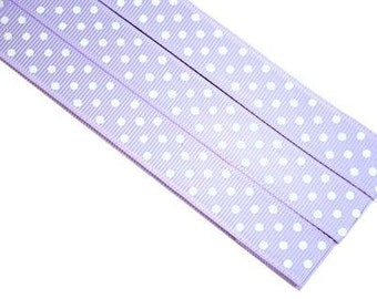 Pattern Magnet - Chart Keeper Magnetic Bookmark - Polka Dots (Light Purple)