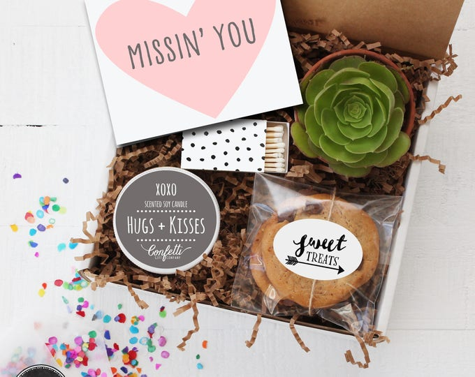 Missin' You Gift -  Miss You Gift | Long Distance Friendship Gift | Friend Gift | Send a Gift | College Care Package