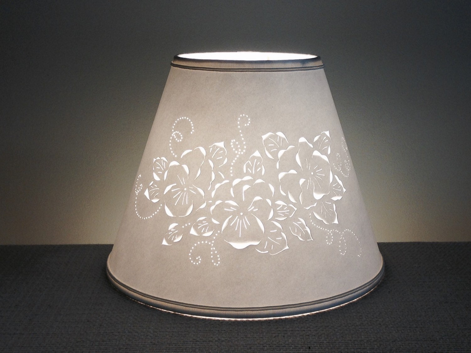 white table light square floral and of lamp shades blue products vase