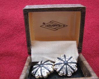 TruBrite Clip Earrings, Vintage