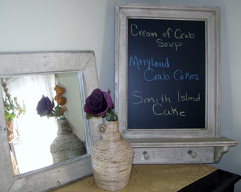 """Chalkboard 20"""" x 26"""" in Driftwood Stain"""