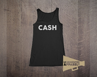 CASH Womens Vest Tank Top