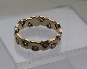 9ct 375 Gold Ring