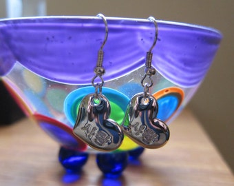 Sarang (Love) Heart Korean Earrings